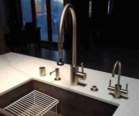 New kitchen faucet and FAQ about setup