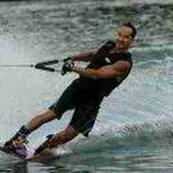 Jay on Water Skis